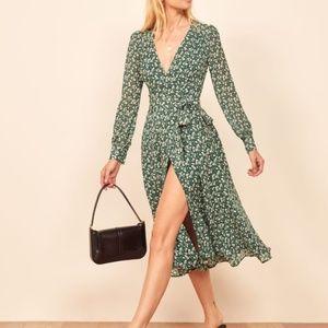 Reformation Susanna Midi Dress Vancouver Size XS/S